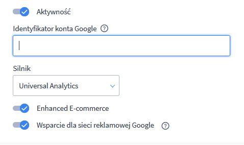 Google Analytics Shoper
